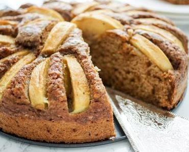 Buttermilchkuchen – Grundrezept mit Apfel oder Heidelbeeren
