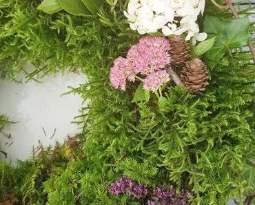 DIY Mooskranz - einfach selbstgemacht und frisch aus der Natur