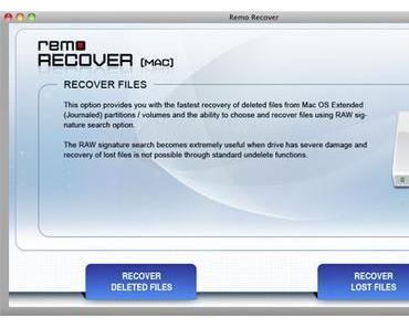 [Review] Remo Recover für Mac hilft bei gelöschten Daten