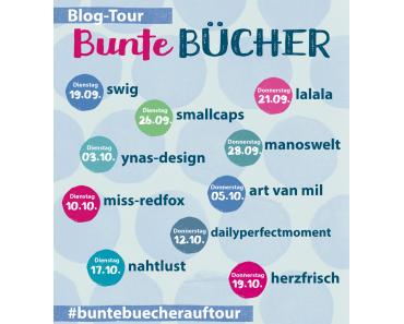 Mein Beitrag zur Blogtour 'Bunte Bücher' von Michaela Müller