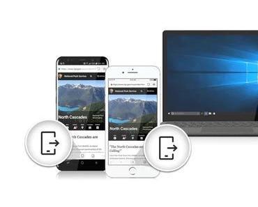 Browser Edge als Preview für iOS und Android