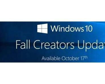 Windows Fall Creators Update ist schon jetzt zu haben