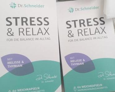 [Werbung] Dr. Schneider Stress & Relax + Gaensefurther Medium trifft Zitrone :)