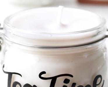 DIY  Kerzenglas mit Lettering + meine letzten 30 Stunden