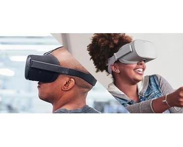 Facebook bringt autarke VR-Brille für 200 Dollar