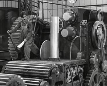 Filme ohne Farbe: MODERNE ZEITEN (1936) von Charlie Chaplin