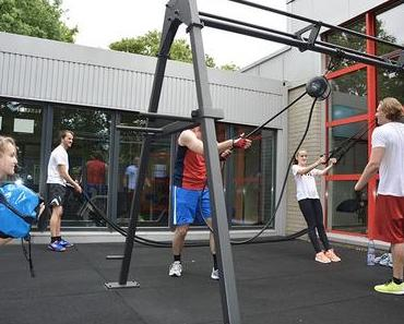 Outdoor-Fitness für den Turn- und Sportverein 08 Lintorf