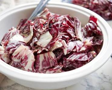 Cremiger winterlicher Radicchio-Salat