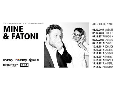 Album-Tipp: Mine & Fatoni – Alle Liebe nachträglich // 2 Videos + full Album stream + Tourdaten