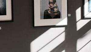 Kunst Mittag Lunch Claudia Schiffer