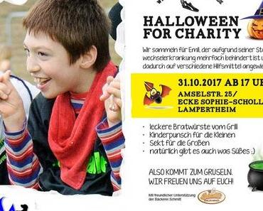 HALLOWEEN FOR CHARITY Aktion zugunsten des KLEINEN EMIL