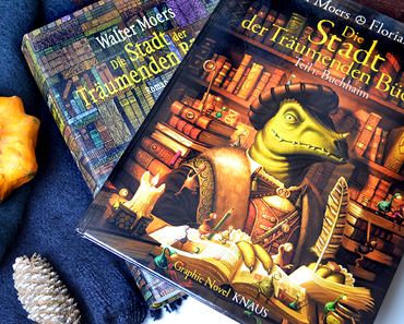 Die Stadt der träumenden Bücher (Graphic Novel) von Walter Moers und Florian Biege