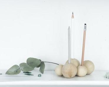 DIY Stiftehalter selber machen – minimalistisch & aus Holz