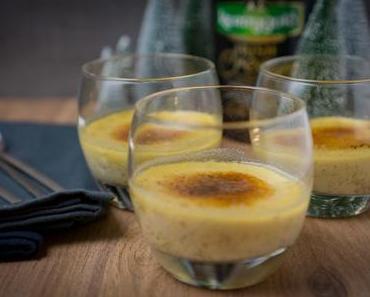 Crème brûlée mit Irish Cream und Tonkabohne [enthält Werbung]