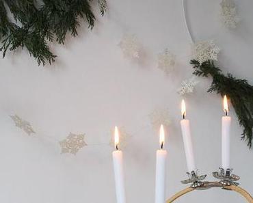 DIY skandinavischer Adventskranz – schlicht und einfach