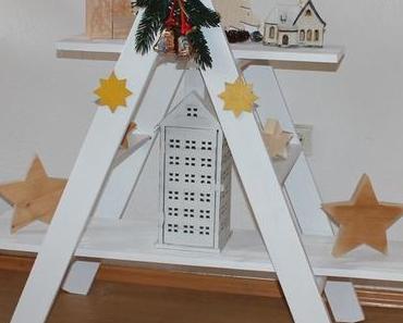 DIY: So bauen Sie aus einer Leiter ein Advents-Regal