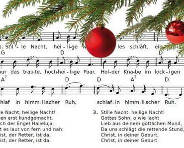Kostenlose Weihnachtslieder (Noten+Texte) aus dem Internet