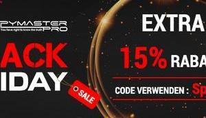 Black Friday Angebote Spymaster Pro, besser geht's nicht mehr!