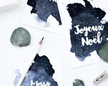 eMag No.2 | mit Aquarell Weihnachtskarten zum Ausdrucken