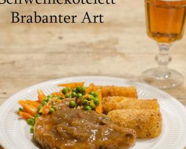 Schweinekotelett Brabanter Art
