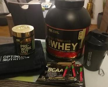 Bereit fürs Training! Optimum Nutrition – Gold Standard Zone