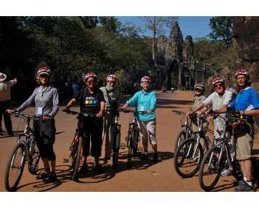 4 beste Routen für eine Radtour in Siem Reap