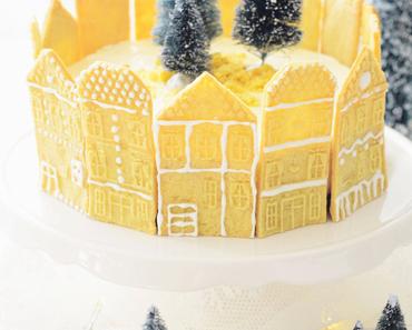 SPEKULATIUS CHEESECAKE mit Weihnachtskirschen - NO BAKE