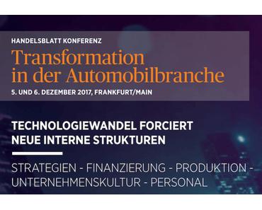 Konferenz Rückblick: Transformation der Automobilindustrie