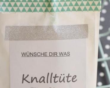 Silvester 2018 Deko und Wunsch-Knalltüte