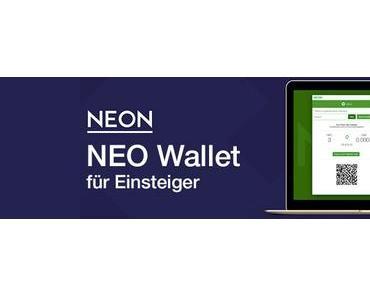 NEO Wallet erstellen für Einsteiger – mit NEON Wallet NEO/GAS senden und empfangen