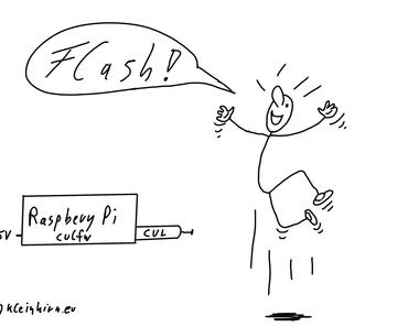 Neue Firmware culfw 1.67 in den CUL flashen