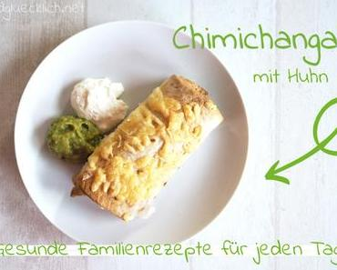 Familienrezept: Gebackene Chimichangas mit Huhn