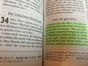 Jesus zitiert Hesekiel