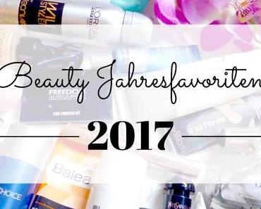 Beauty Jahresfavoriten 2017