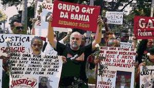Noch wurden soviel Homosexuelle Brasilien ermordet 2017
