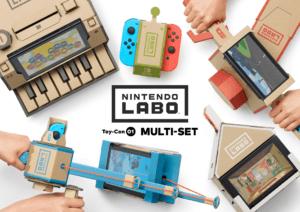 Nintendo Labo: Bastelspaß ganze Familie
