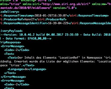 Raspberry Pi: XML formatieren mit xmllint unter Linux