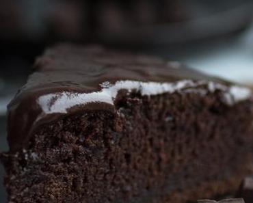 Super saftiger Schokoladenkuchen mit Rote Bete