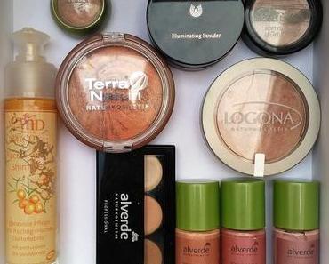 Mein Naturkosmetik Highlighter Vergleich 2018 für sehr helle Haut :-D [Werbung]