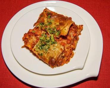 Lasagne Bolognese (vegan)
