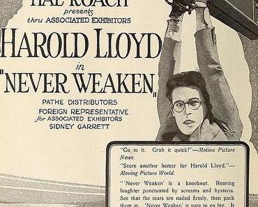 Nur nicht schwach werden (Harold Lloyd, 1921)