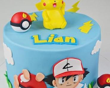 Eine Pokemon Torte