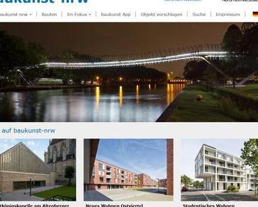 baukunst-nrw — Architekturführer in neuem Gewand