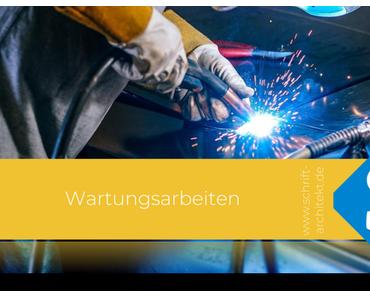 Wartungsarbeiten bei Schrift-Architekt.de bis 11. Februar 2018