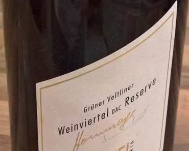 Weinverkostung – Weingut Pfaffl – Grüner Veltliner Weinviertel DAC Reserve Hommage 2012