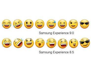 Samsung Galaxy S8 und Galaxy S8+ bekommen mit Android 8.0 Oreo neue und überarbeitete Emojis