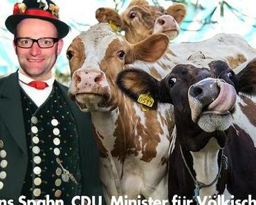 Der schwule Jens Spahn wird Minister für Völkisches, Provinzielles und Christenwerte