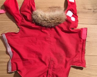 Alte Skihose - des Hundekaisers neue Kleider
