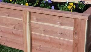 Projekt 3/2018 Hochbeet Holz bauen.