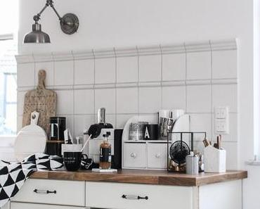DIY Café Menü Tafel Letter Board oder Upcycling eines Hula Hoop Reifens